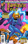 Cover for Fantastic Four (Marvel, 1998 series) #2 [Direct Edition]