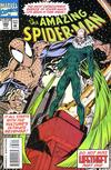 Cover for The Amazing Spider-Man (Marvel, 1963 series) #386 [Direct Edition]