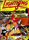 Cover for Lightning Comics (Ace Magazines, 1940 series) #v1#4