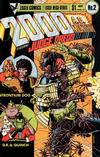 Cover for 2000 A.D. [2000 A.D. Monthly] (Eagle Comics, 1985 series) #2