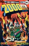 Cover for 2000 A.D. (Eagle Comics, 1986 series) #3