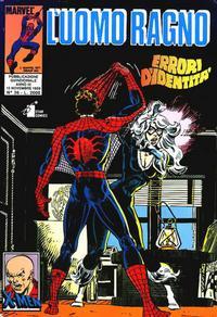 Cover Thumbnail for L' Uomo Ragno (Edizioni Star Comics, 1987 series) #36