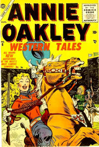 Cover Thumbnail for Annie Oakley (Marvel, 1955 series) #6