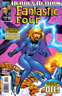 Cover Thumbnail for Fantastic Four (Marvel, 1998 series) #2 [Direct Edition]