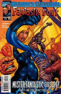 Cover Thumbnail for Fantastic Four (Marvel, 1998 series) #3
