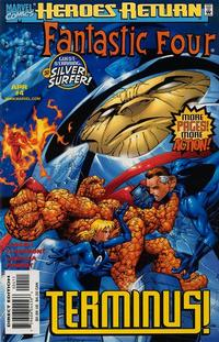 Cover Thumbnail for Fantastic Four (Marvel, 1998 series) #4 [Direct Edition]