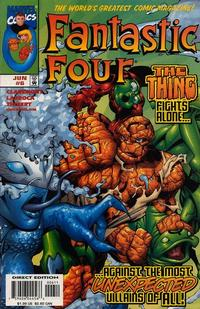 Cover Thumbnail for Fantastic Four (Marvel, 1998 series) #6 [Direct Edition]