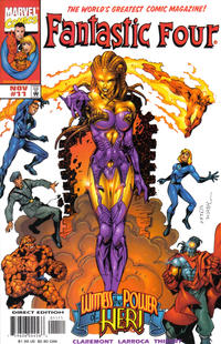 Cover Thumbnail for Fantastic Four (Marvel, 1998 series) #11 [Direct Edition]