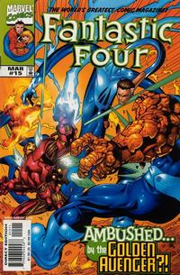 Cover Thumbnail for Fantastic Four (Marvel, 1998 series) #15 [Direct Edition]