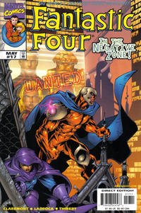 Cover Thumbnail for Fantastic Four (Marvel, 1998 series) #17 [Direct Edition]