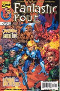 Cover Thumbnail for Fantastic Four (Marvel, 1998 series) #18 [Direct Edition]