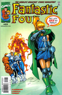 Cover Thumbnail for Fantastic Four (Marvel, 1998 series) #22 [Direct Edition]