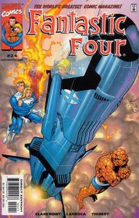 Cover Thumbnail for Fantastic Four (Marvel, 1998 series) #24 [Direct Edition]