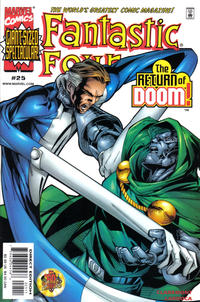 Cover Thumbnail for Fantastic Four (Marvel, 1998 series) #25 [Direct Edition]