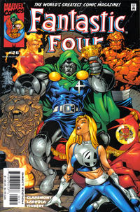Cover Thumbnail for Fantastic Four (Marvel, 1998 series) #26 [Direct Edition]
