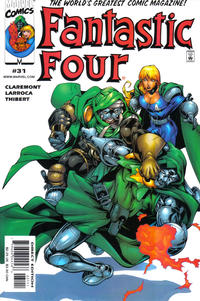 Cover Thumbnail for Fantastic Four (Marvel, 1998 series) #31 [Direct Edition]