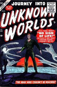Cover Thumbnail for Journey into Unknown Worlds (Marvel, 1951 series) #43