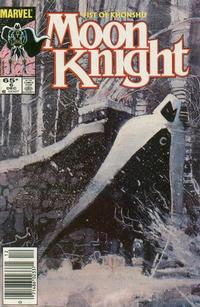 Cover for Moon Knight (Marvel, 1985 series) #6 [Canadian]