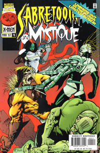 Cover Thumbnail for Mystique & Sabretooth (Marvel, 1996 series) #4 [Direct Edition]