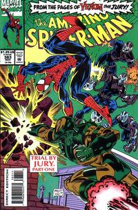 Cover for The Amazing Spider-Man (Marvel, 1963 series) #383 [Direct Edition]