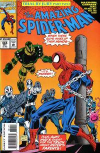 Cover for The Amazing Spider-Man (Marvel, 1963 series) #384 [Direct Edition]