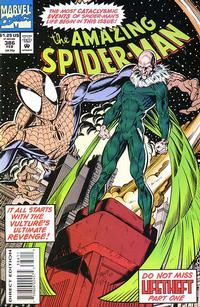 Cover Thumbnail for The Amazing Spider-Man (Marvel, 1963 series) #386 [Direct Edition]