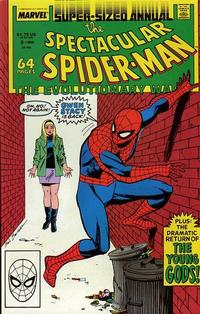 Cover Thumbnail for The Spectacular Spider-Man Annual (Marvel, 1979 series) #8 [Direct]