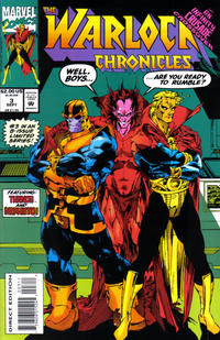 Cover Thumbnail for Warlock Chronicles (Marvel, 1993 series) #3
