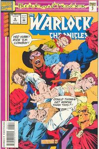 Cover Thumbnail for Warlock Chronicles (Marvel, 1993 series) #6 [Direct Edition]
