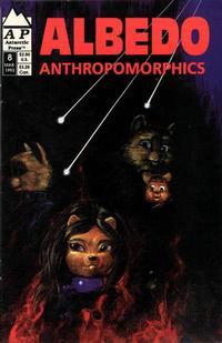 Cover for Albedo (Antarctic Press, 1991 series) #8