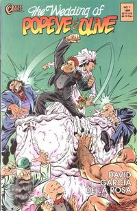 Cover Thumbnail for The Wedding of Popeye and Olive (Ocean Comics, 1999 series) #1
