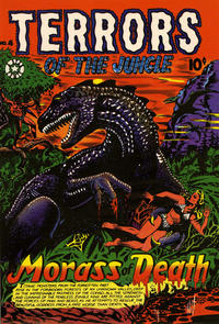 Cover Thumbnail for Terrors of the Jungle (Star Publications, 1953 series) #4