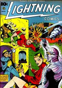 Cover Thumbnail for Lightning Comics (Ace Magazines, 1940 series) #v1#5