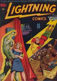 Cover Thumbnail for Lightning Comics (Ace Magazines, 1940 series) #v1#6