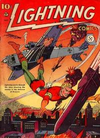 Cover Thumbnail for Lightning Comics (Ace Magazines, 1940 series) #v2#3