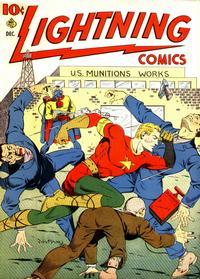 Cover Thumbnail for Lightning Comics (Ace Magazines, 1940 series) #v2#4