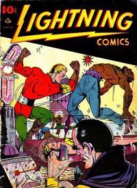 Cover Thumbnail for Lightning Comics (Ace Magazines, 1940 series) #v2#5