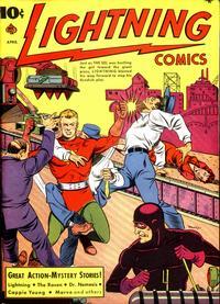 Cover Thumbnail for Lightning Comics (Ace Magazines, 1940 series) #v2#6