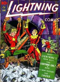 Cover Thumbnail for Lightning Comics (Ace Magazines, 1940 series) #v3#1
