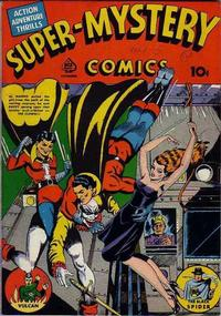 Cover Thumbnail for Super-Mystery Comics (Ace Magazines, 1940 series) #v1#5