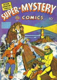 Cover Thumbnail for Super-Mystery Comics (Ace Magazines, 1940 series) #v2#1