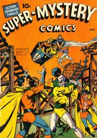 Cover Thumbnail for Super-Mystery Comics (Ace Magazines, 1940 series) #v2#2