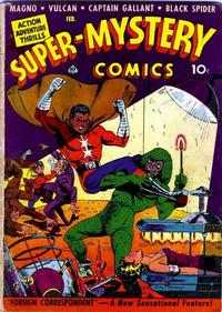 Cover Thumbnail for Super-Mystery Comics (Ace Magazines, 1940 series) #v2#6