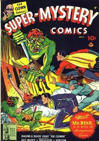 Cover Thumbnail for Super-Mystery Comics (Ace Magazines, 1940 series) #v3#2