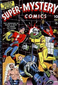 Cover Thumbnail for Super-Mystery Comics (Ace Magazines, 1940 series) #v3#5