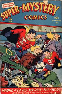Cover Thumbnail for Super-Mystery Comics (Ace Magazines, 1940 series) #v4#5