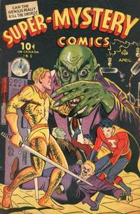 Cover Thumbnail for Super-Mystery Comics (Ace Magazines, 1940 series) #v4#6