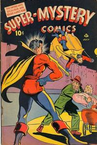 Cover Thumbnail for Super-Mystery Comics (Ace Magazines, 1940 series) #v5#1