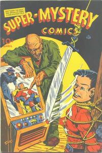 Cover Thumbnail for Super-Mystery Comics (Ace Magazines, 1940 series) #v5#5