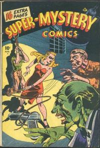 Cover Thumbnail for Super-Mystery Comics (Ace Magazines, 1940 series) #v6#1
